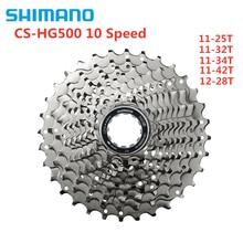 Shimano Tiagra M6000 CS HG500 M4100 HG50 5700 10 속도 산악 도로 자전거 카세트 플라이휠 11 25T 12 28T 11 32T 11 34T 11 42T