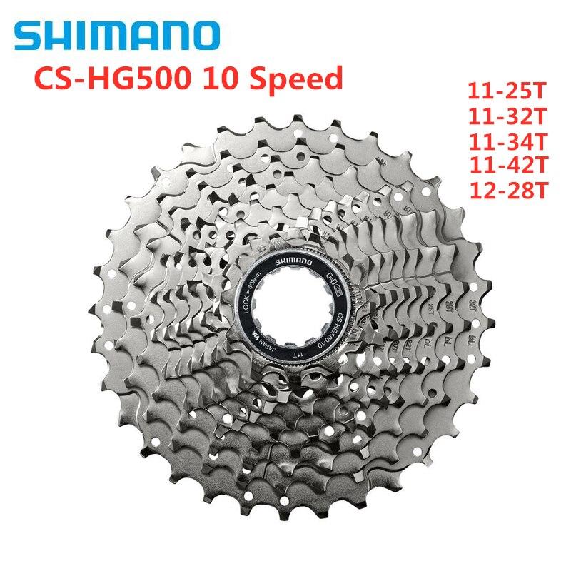 シマノ Tiagra 4600 4700 M6000 CS HG500 10 速度マウンテン Mtb  ロードバイクカセットフライホイール 11 25T 12  28T 11 32T 11 34T 11 42T     グループ上の スポーツ