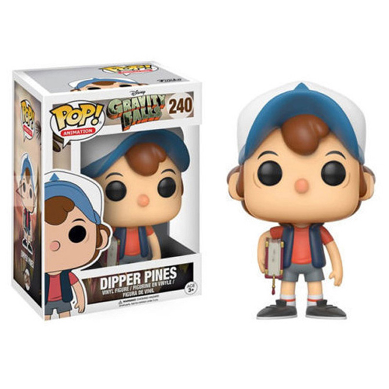 Funko Pop 240 Gravity Falls DIPPER PINES Action Figure Toys