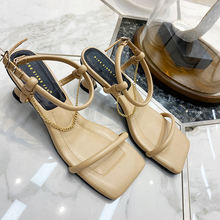 Сандалии с открытым носком yi zi kou красные сетчатые туфли
