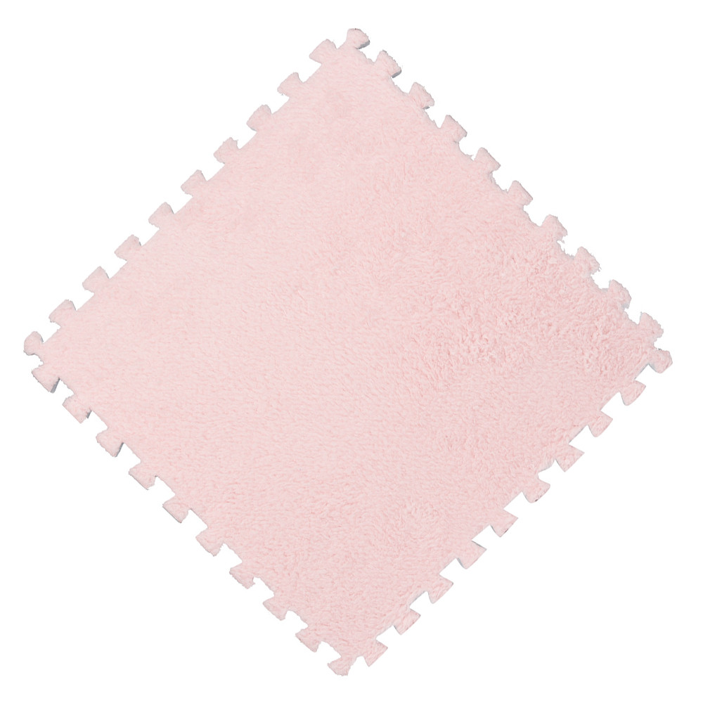 Ha73bf274d1c041b28662f3b69ebcf673g Play Mats 25X25cm Kids Carpet Foam Puzzle Mat EVA Shaggy Velvet Baby Eco Floor 7 colors 10.30
