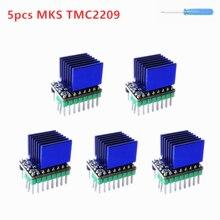 Tmc 2209 driver de passo mks tmc2209 stepstick motor stepping módulo controlador impressora 3d drivers arguino cnc shield driver