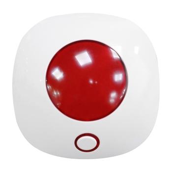 Bezprzewodowo syreny alarmowe bezpieczeństwo dźwięk i Alarm świetlny Host 110DB bezpieczeństwo w domu systemy alarmowe Host (wtyczka EU) tanie i dobre opinie