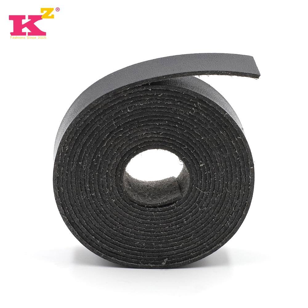 Kzfashion Leather Strap 15 20mm Wide DIY Detachable Bag Strap Length 2m 5m Handles Belts Accessorie For Handbag Shoulder Bags #A