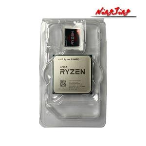 Image 2 - AMD Ryzen 5 5600X R5 5600X 3.7 GHz Six Core Twelve Thread CPU Processor 7NM 65W L3=32M 100 000000065 Socket AM4 New and with fan