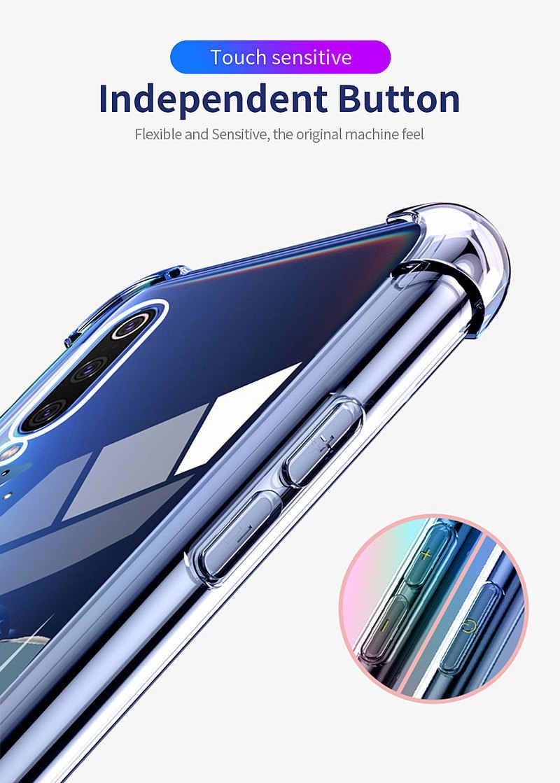 Essager, odporna na wstrząsy obudowa do Xiaomi czerwony mi uwaga 7 6 Pro Note4X 5 Plus A2 Lite obudowy obudowy dla Xiao mi mi 9 SE 8 grać krzemu pokrywy