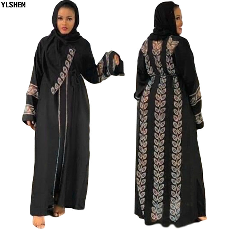 Africa Dress African Dresses for Women Dashiki Boubou Robe Africaine Femme Abaya Dubai Muslim Dress Hijab Kaftan Islam Clothing