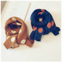 kids scarf New autumn and winter boys and girls Knitting Scarf
