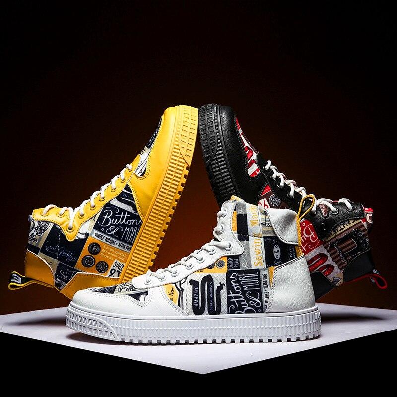 Brand Sneakers Men Casual Shoes For Man Sneaker Trend Luxury Luminous Unisex Shoes Men Trend Flats Shoes Zapatillas Hombre New