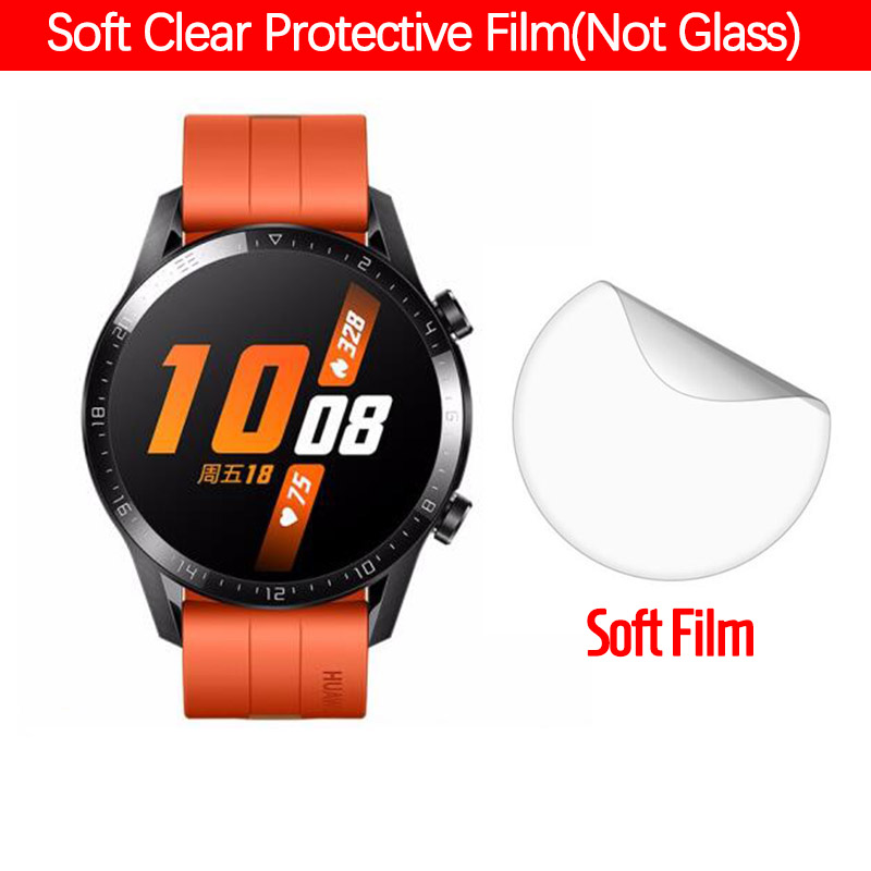 Soft Clear Protective Films For Huawei Watch GT 2 GT2 42MM 46MM Smart Watch Full Screen Protector Cover Film (Not Glass)