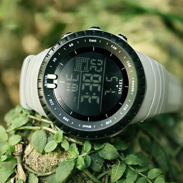 Fashion Brand Men Watch Waterproof Sport Watch Outdoor Silicone Strap Led Digital Watch Men Clock Erkek Kol Saati Hodinky 4