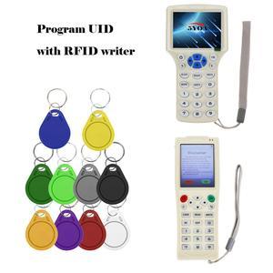 Image 3 - 100 stücke UID Fob 13,56 MHz Block 0 Sektor Beschreibbar IC Karte Klon Veränderbar Smart Keyfobs Schlüssel Tags Karte 1K S50 RFID Access Control