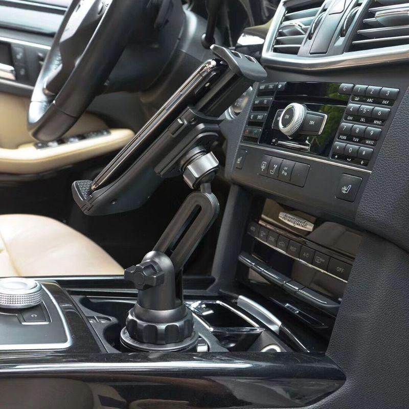 Uniwersalny uchwyt samochodowy uchwyt na kubek do montażu telefonu komórkowego stojak na 3.5-12.5