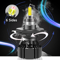 Super Bright 6 Sides H4 H11 H7 H1 Led H3 Hb3 Hb4 9005 9006 Hir2 9012 Car Headlight Bulb Canbus 9004 9007 H13 Lamp 70w 20000lm