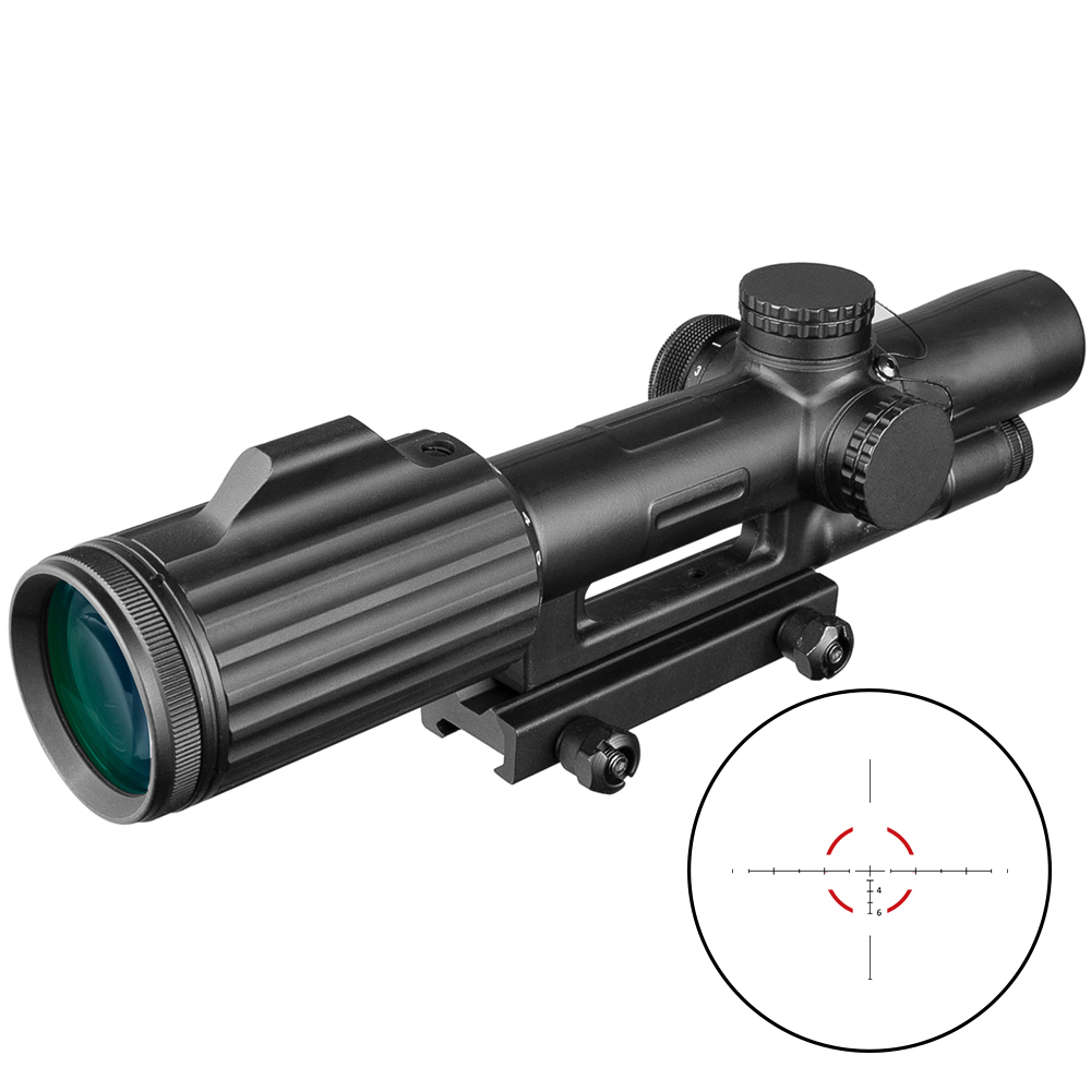 ACOG 1-6X24 Cruz concéntricos Rifle de caza Riflescope táctico vista óptica iluminado R & G Rifle de francotirador. UNIKIT FTTH ESC250D SC APC /UPC fibra óptica monomodo nuevo modelo conector rápido óptico