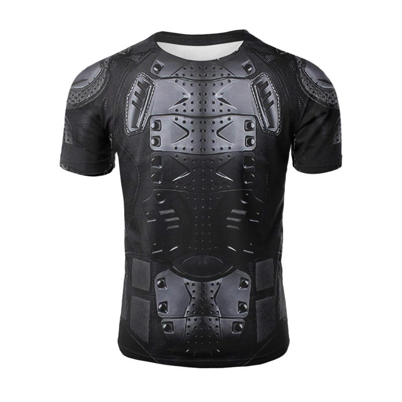 Футболка с 3D принтом в стиле боевой доспехи, одежда древнего римского воина, крутая хипстерская мужская летняя футболка с коротким рукавом