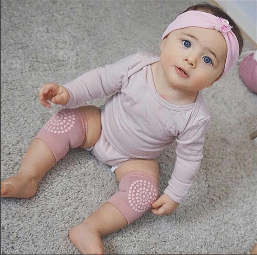 2 زوج الطفل الركبة وسادة الاطفال سلامة الزحف الكوع وسادة الرضع طفل جوارب السيقان رشاقته جوارب السيقان الركبة دعم حامي
