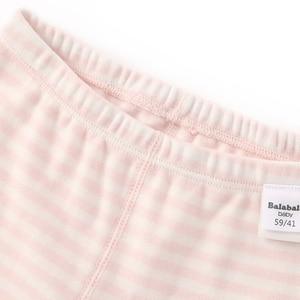 Image 5 - ベビー肌着セットベビー秋服長ズボンスーツ綿女の子暖かい服ボーイズ春と秋パジャマ薄型