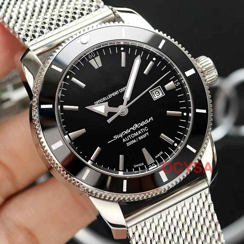 Rubber Strap Asia 2813 AAA Luxury Brand Men  Automatic Mechanical Aaa Designer Mens Watch Fashion Watches Wristwatches MEN
