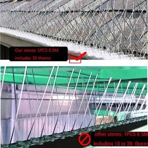 Image 3 - ホット20個10 4mオーチャードステンレス鋼鳥防水針屋外設置鳥リペラーヴィラからインストール鳥デバイス