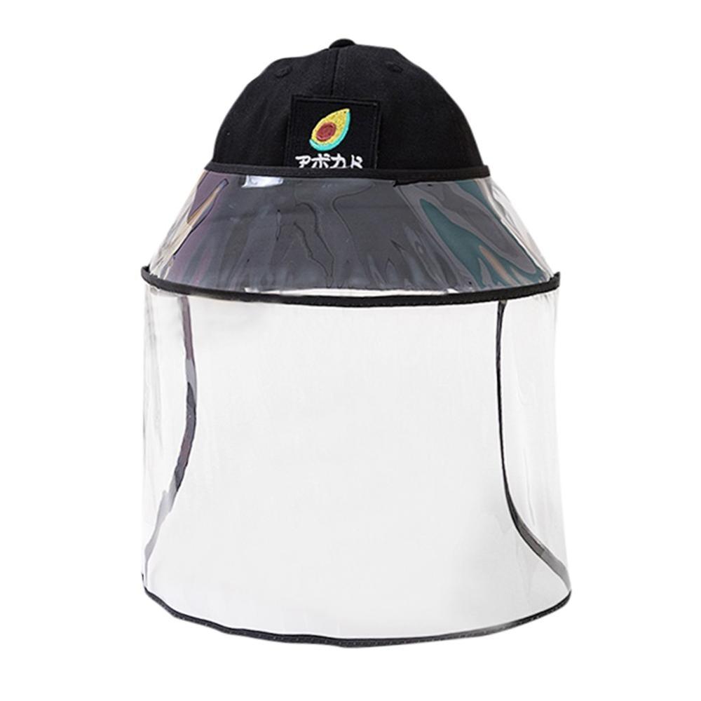 Protective Cap Kids Boys Girls Anti-spitting Protective Hat Dustproof Cover Fisherman Cap Hat Waterproof And Dustproof Multipurp