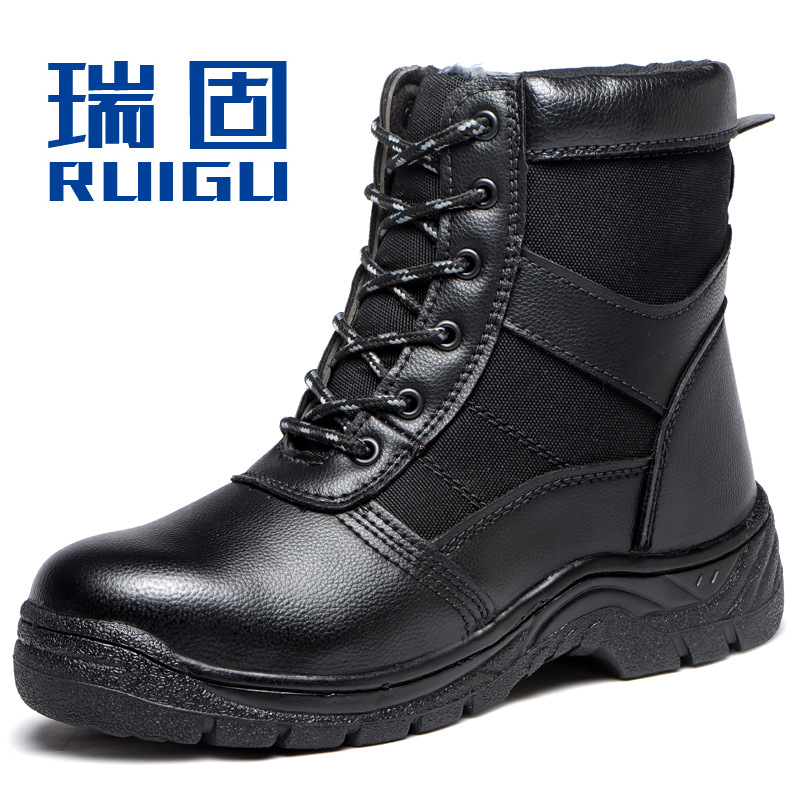 Currently Available Wholesale New Style Warm Safety Shoes Safe Protective Shoes Anti-smashing And Anti-penetration Anti-slip War