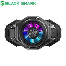 Original Schwarz Shark 3 Pro 2 FunCooler Pro flüssigkeit Rollenmaschinenlinie Typc RGB bunte kühlung Für xiaomi iPhone huawei 67 88mm telefon Kühler Fan