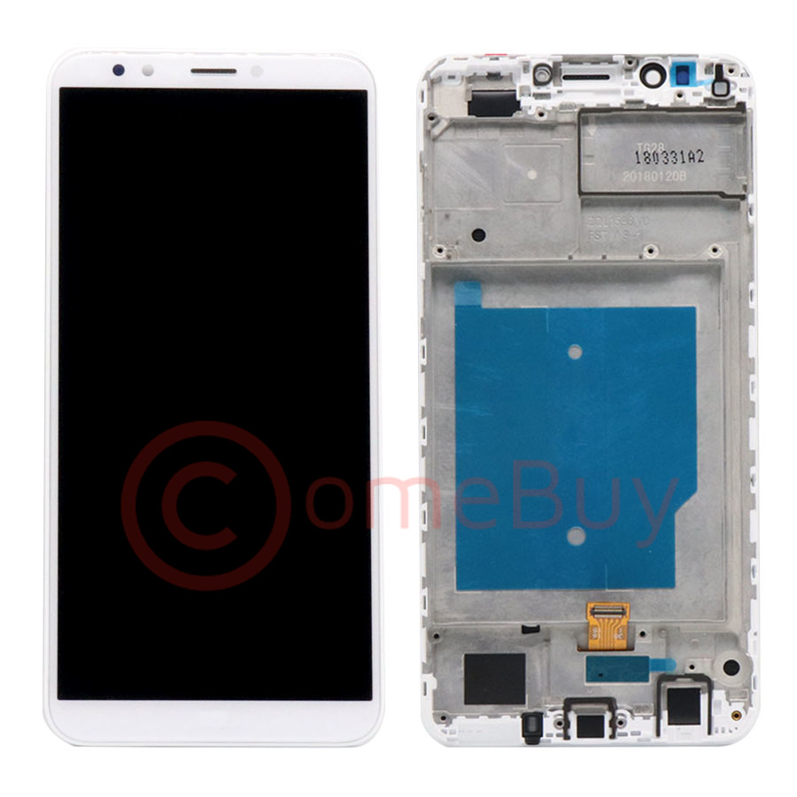 Image 2 - For HUAWEI Y7 Prime 2018 Y7 2018 LCD Display Touch Screen With Frame LDN L21 For Huawei Y7 Pro 2018 LCD Screen LND L22 L21 L29Mobile Phone LCD Screens   -