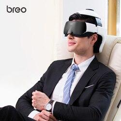 Masajeador de cabeza y ojos Digital breo iDream 3S, masajeador eléctrico de casco 2 en 1, masajeador de terapia de calentamiento Automática, cuidado de la salud