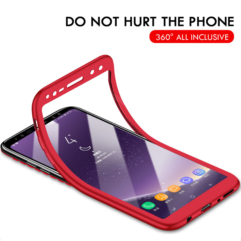 Luxury TPU Silicone Soft <font><b>360</b></font> Full Body Protective <font><b>Case</b></font> For <font><b>Samsung</b></font> Galaxy A70 A50 A40 A30 A10 A9 A7 2018 <font><b>Note</b></font> 9 <font><b>8</b></font> M30 M20 Cover image