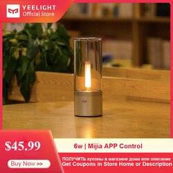 Yeelight Smart Candela Licht 6W LED Drahtlose Mijia App Control Gelb Hause Licht Für Atmosphäre Lampe Schlafzimmer Neuheit Beleuchtung