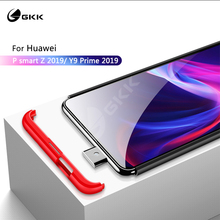 GKK luxury Case for Huawei P smart Z Y9 Prime 2019 Case 3 In 1 Matte Hard Colorful Business Style Cover for Huawei Nova 5t case
