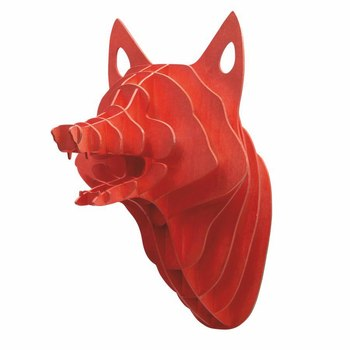 Fox Head 3D Model CNC Laser Cutting File DXF CDR Format File 2d Cutting Vector Design Drawing