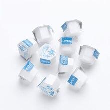 10/20pcs Comedone Esfoliante Ridurre I Viso Pulizia Enzima Detergente In Polvere Rimuovere Pori Idratante Sbiancamento Detergente Viso