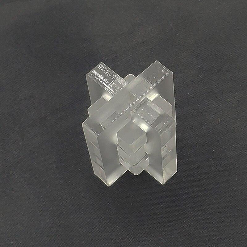 Quebra-cabeça 3d modelo de quebra-cabeça rebarba nível