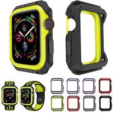 Защитный чехол ProBefit из силикона и поликарбоната для Apple Watch 4, 5, 40 мм, 44 мм, защитный чехол-бампер для iWatch 3, 2, 1, 38 мм, 42 мм