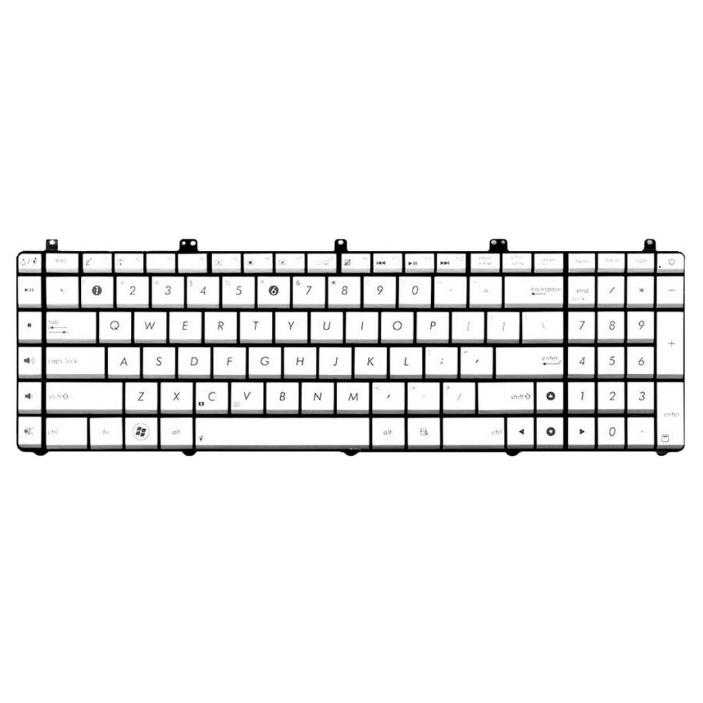For <font><b>ASUS</b></font> N55 <font><b>N55S</b></font> N55SL Series Laptop <font><b>Keyboard</b></font> US Layout Replacement Parts image