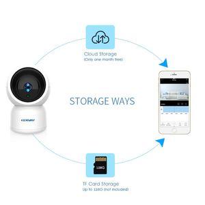 Image 4 - 1080 p hd wifi câmera de vigilância de rede noite câmera interna casa p2p cctv câmera wi fi função onvif câmera com áudio bidirecional
