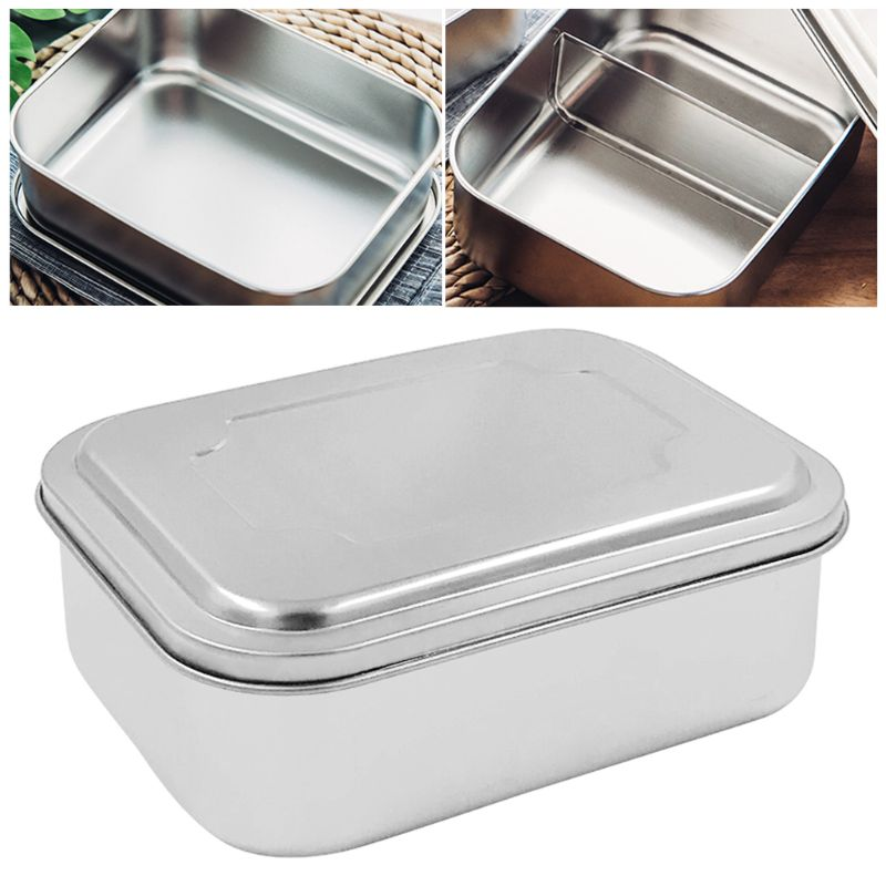 Stainless Steel Portable Student Insulated Lunch...