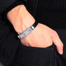 1Pc 16 Styles Stainless Steel Silicone Medical Alert Id Bracelets  Bangles Type Diabetes Epilepsy Alzheimer'S Emergency Jewelry