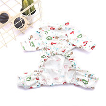 Dog Women's Sleepwear Teddy Bichon Pomeranian Law Bucket Pet Puppy Cat Clothes Spring And Summer Thin Clothing Home Wear(China)