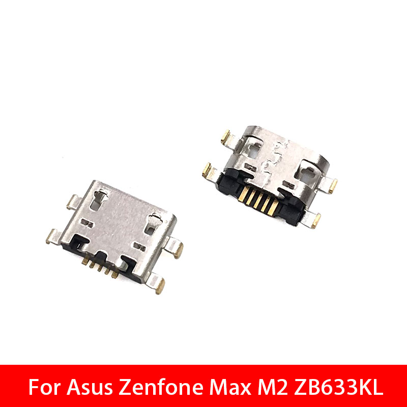 20pcs/lots For Asus Zenfone Max M2 ZB633kl Micro USB Jack Charging Socket Charger Port Plug Dock Connector