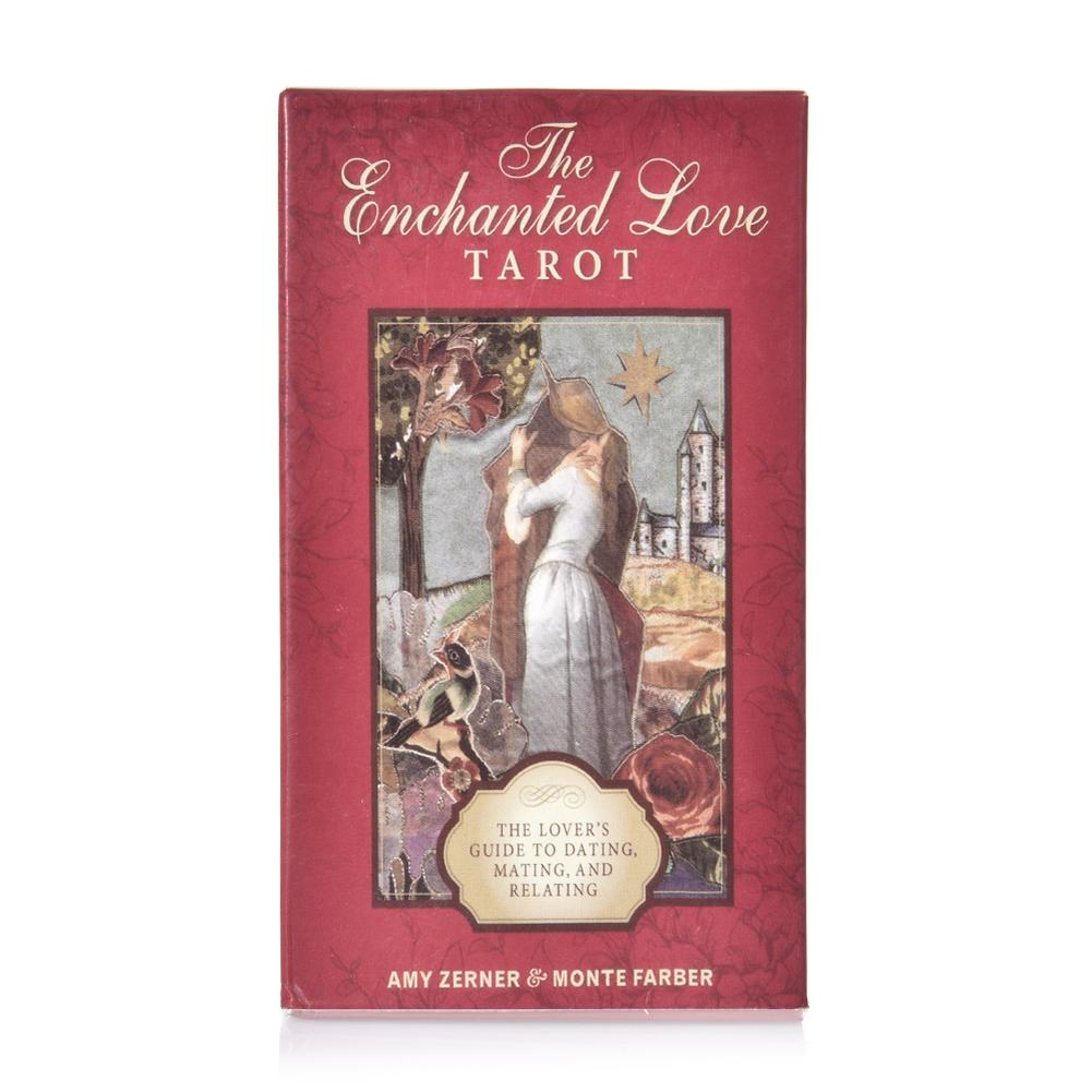 78Pcs The Love Tarot Deck The Lover's Guide To Dating Mating And Relating Card Game Party Full English Play Tarot Card