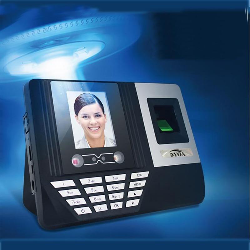 Af3 Facial Fingerprint Recognition Attendance Machine Face Recognition English Punch Card Machine Software-free U Disk Report