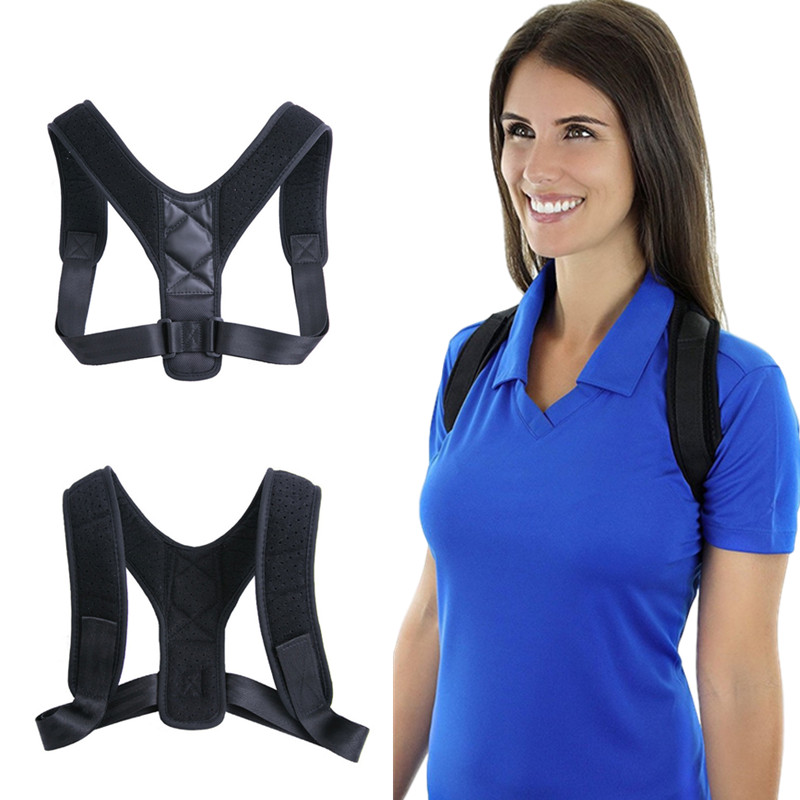 Brace Support Belt Adjustable Back Posture Corrector Clavicle Spine Back Shoulder Lumbar Corrector De Postura VIP DropShipping
