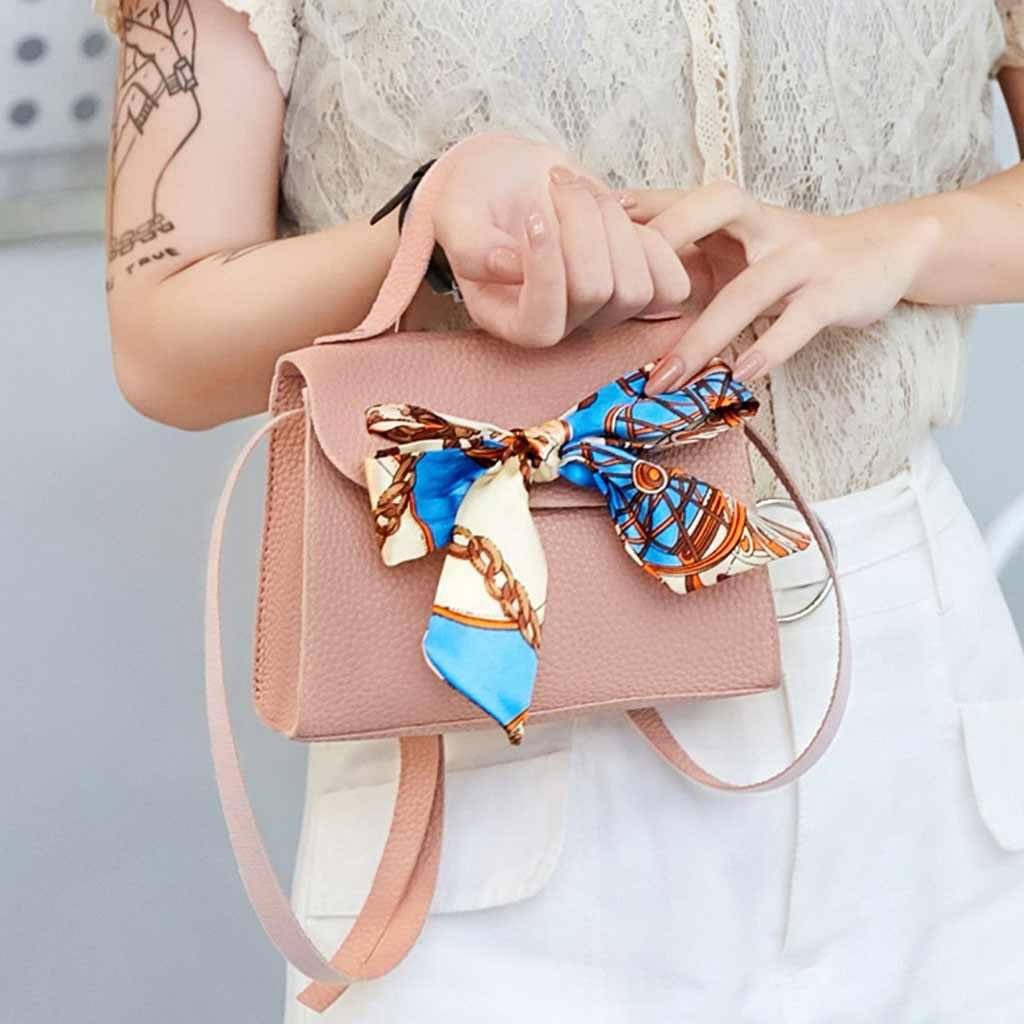 ミニ · スモール女性のクロスボディ女性 2019 ファッション小型固体色ショルダーバッグレトロ女性のハンドバッグメッセンジャーバッグ