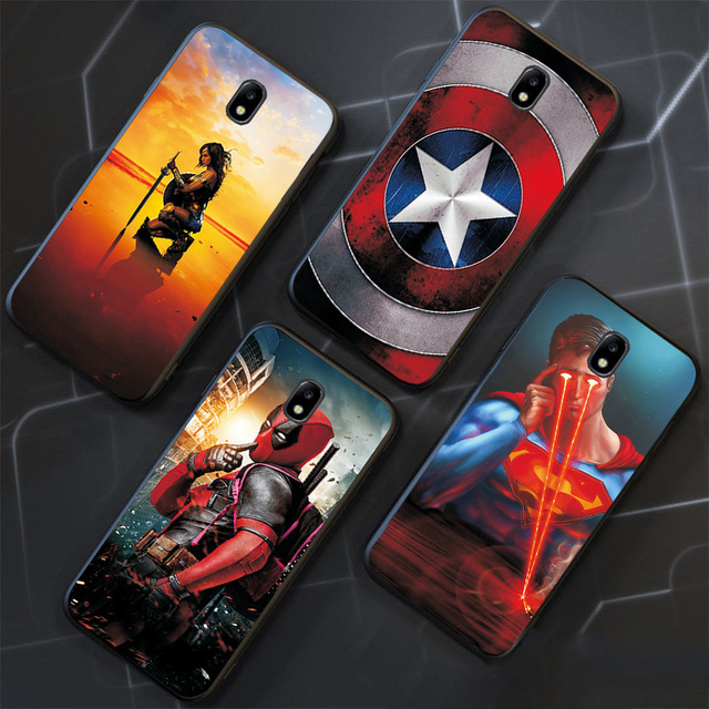 Samsung Galaxy Marvel Avengers Phone Cover  3