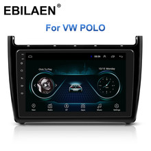 Auto Radio Gps Navigatie Multimedia Player Voor Vw Volkswagen Polo Sedan 2008-2015 2Din Android 8.1 Auto Stereo Autoradio video(China)