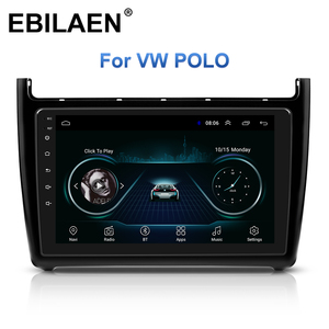 Car Radio GPS Navigation Multimedia Player For VW Volkswagen POLO Sedan 2008-2015 2Din Android 8.1 Auto Stereo Headunit Video