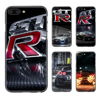 GTR JDM car Phone Case Cover Hull For iphone 5 5s se 2 6 6s 7 8 plus X XS XR 11 PRO MAX black waterproof art prime pretty back image